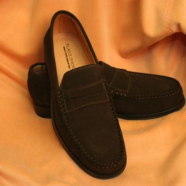 Mens Suede Loafers