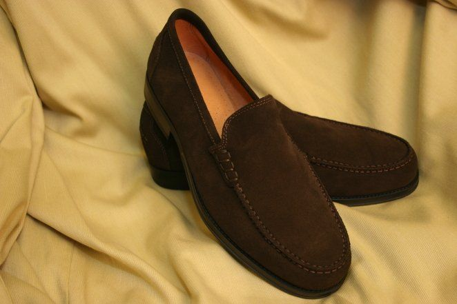 Article 9444 Natural Suede Dark Brown