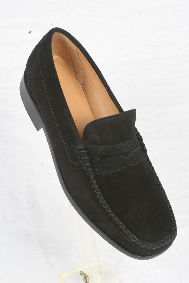 Article 2979 Natural Suede Black