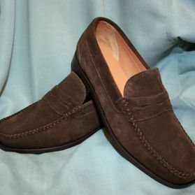 Article 2979 Natural Suede Dark Brown